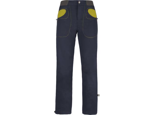 E9 Rondo Story Trousers Barn bluenavy